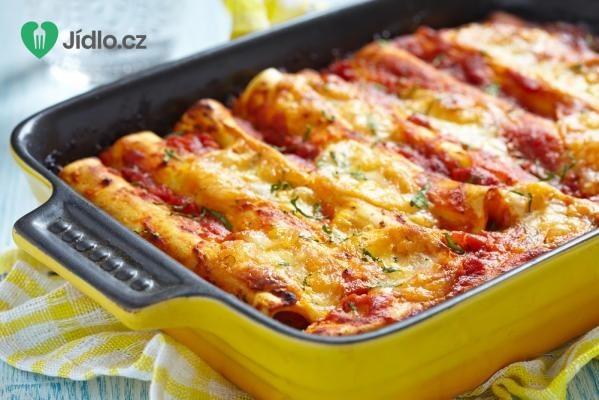 Cannelloni plněné ricottou a cuketou recept