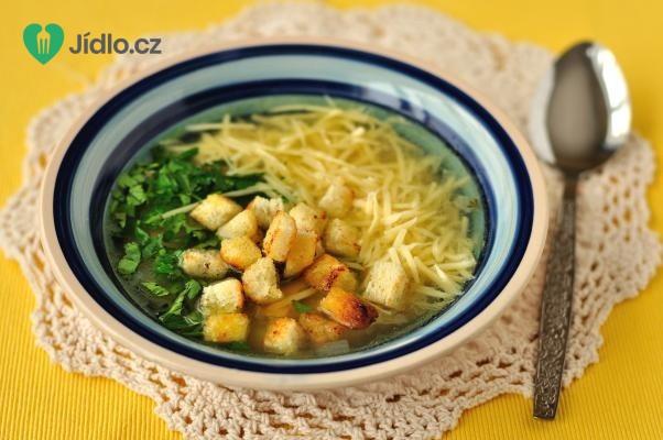 Recept Česnečka se sýrem