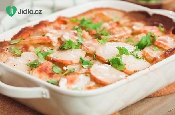 Chalupářské zapečené brambory recept