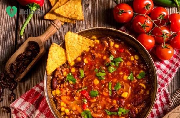 Recept Chilli con carne