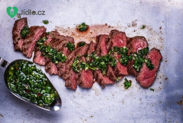 Chimichurri - bylinková omáčka na steak recept
