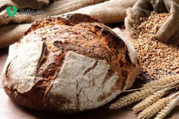 Chléb recept