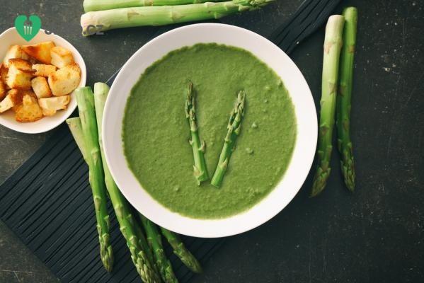 Chřestová polévka recept