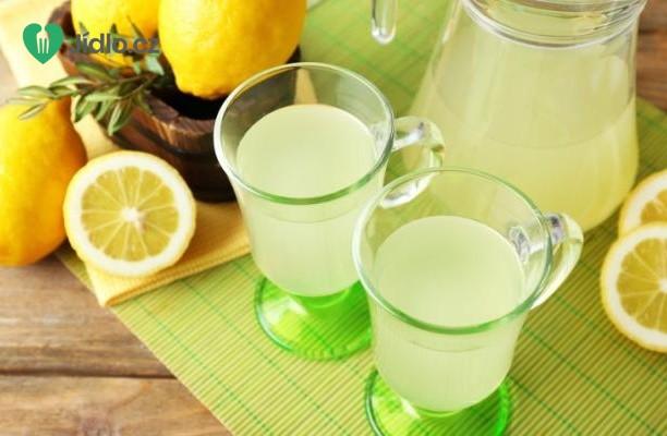 Citronová limonáda recept