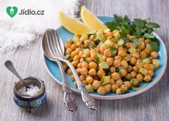 Cizrnový salát recept