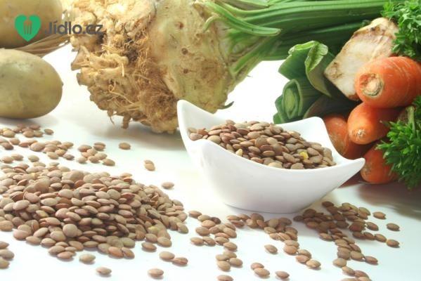 Čočková polévka s kořenovou zeleninou recept