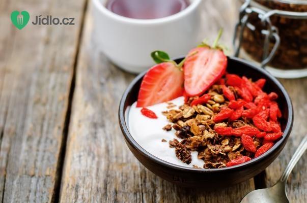 Čokoládová granola recept