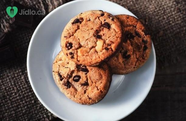 Cookies s kousky čokolády recept