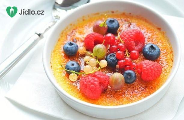 Creme Brulee s letním ovocem recept