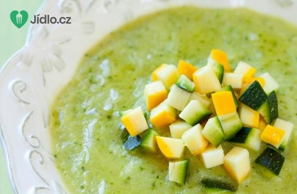 Cuketová polévka s kapary a mátou recept