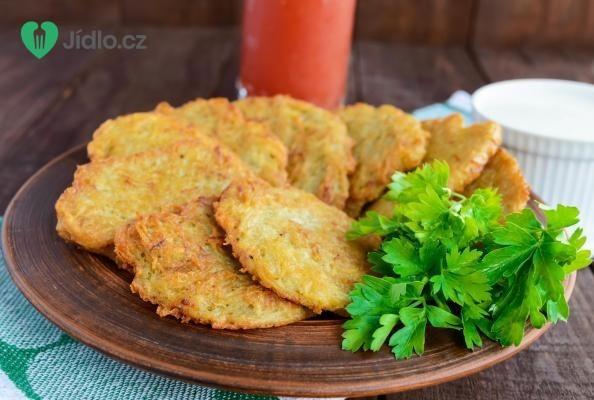 Cuketové bramboráčky recept