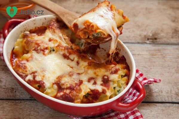 Cuketové lasagne recept