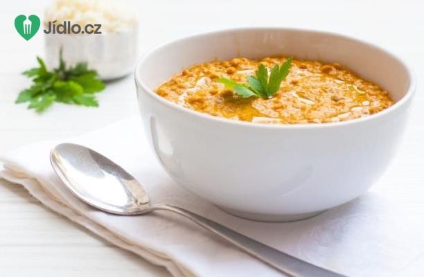 Recept Dýňová polévka s červenou čočkou