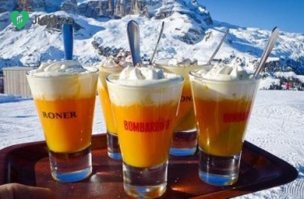 Recept Drink Bombardino