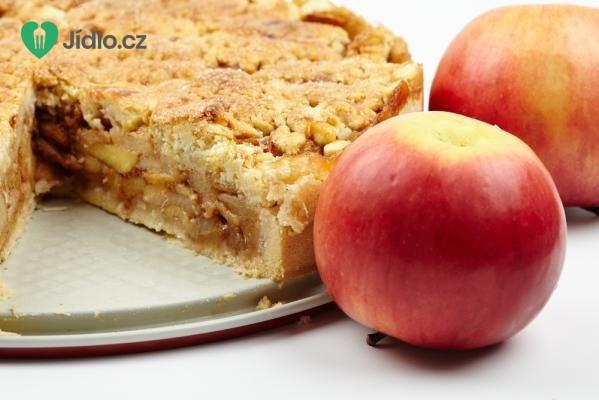 Drobenkový jablečný koláč recept