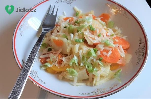 Dušená zelenina se sýrem Grana Padano recept