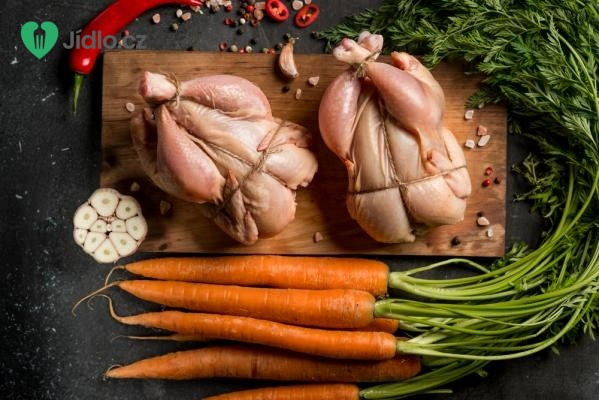 Dušené kuře s kedlubnou a mrkví recept