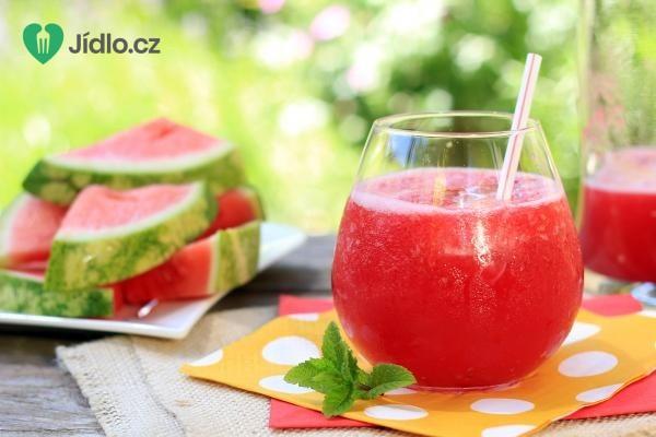 Fenyklovo melounový drink recept