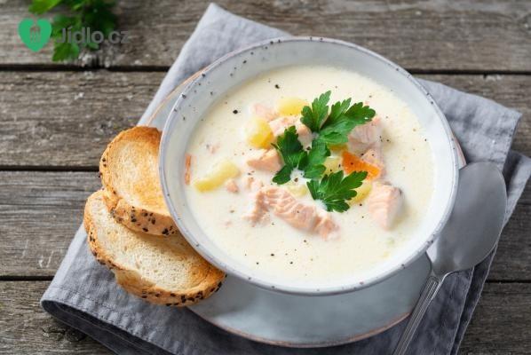 Fiskesuppe - krémová rybí polévka  recept
