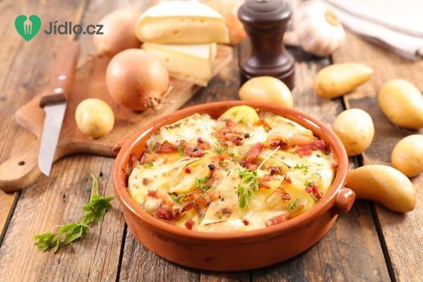 Francouzské brambory se sýrem recept
