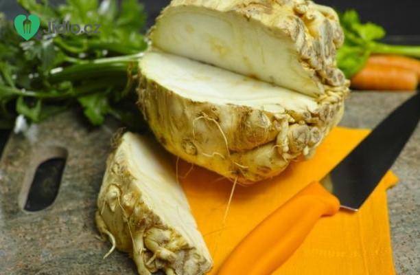 Gratinovaný celer se sýrem feta recept