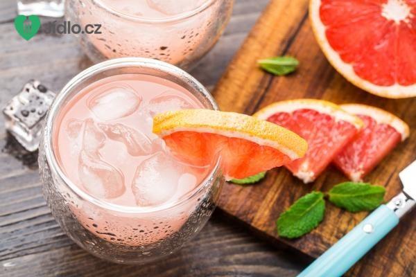 Grepfruitový koktejl recept