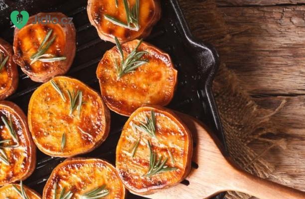 Grilované sladké brambory recept