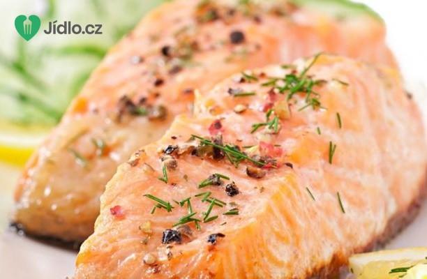 Grilovaný  losos recept