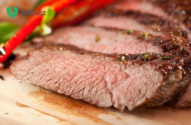 Grilovaný marinovaný  steak recept