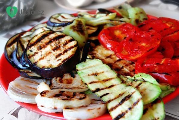 Grilovaná zelenina s náplní recept