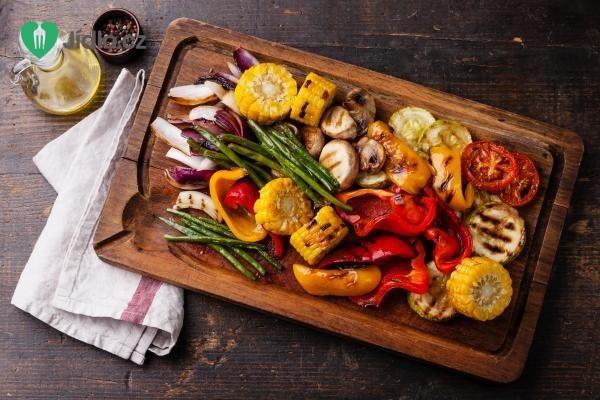 Grilovaná zelenina recept