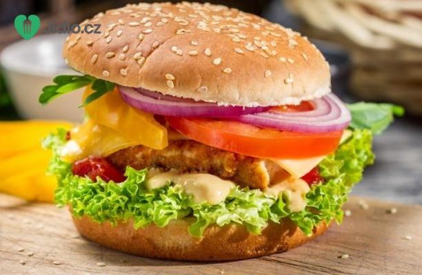 Recept Hamburger s kuřecím masem