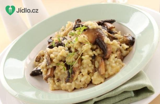 Houbové risotto recept