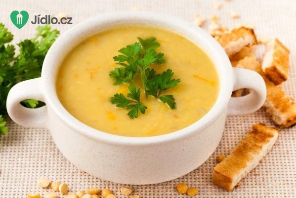 Hrachová polévka ze žlutého hrachu recept