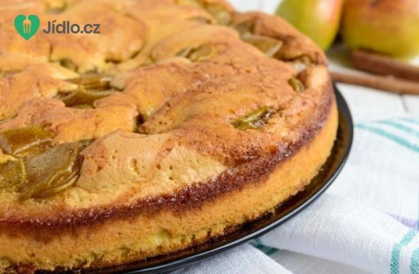 Recept Hruškový koláč