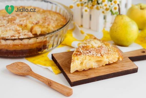 Hruškový koláč pro diabetiky recept