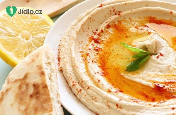 Hummus s citronem a koriandrem recept