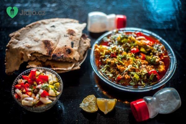 Indické zeleninové Sabdží recept