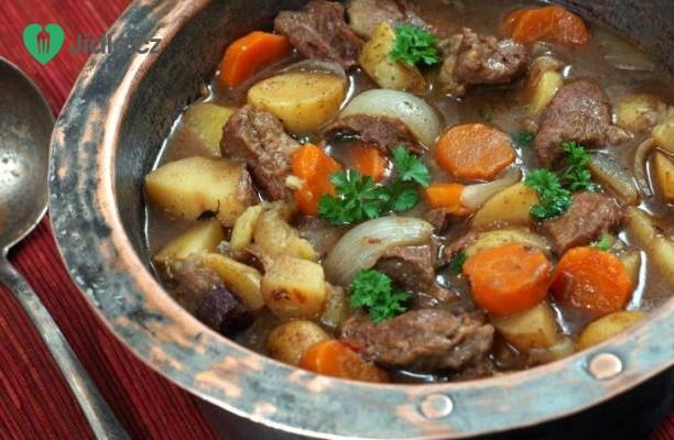 Recept Irské dušené hovězí