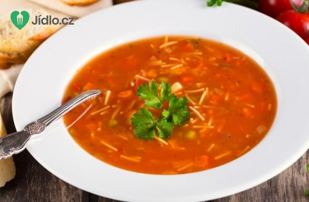 Italská  polévka minestrone recept