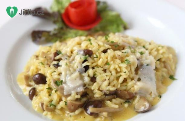 Recept Italské houbové rizoto