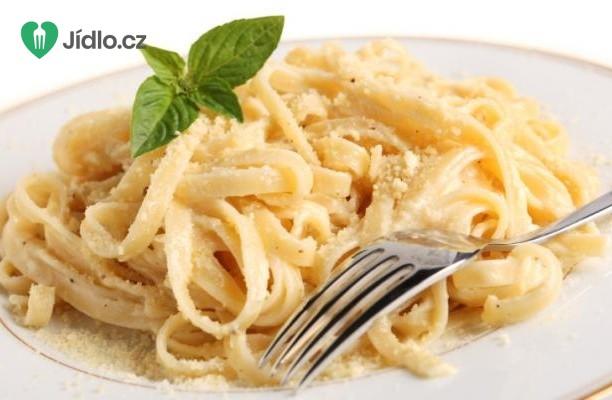 Italské těstoviny  Alfredo recept