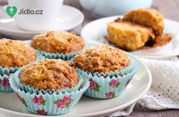 Jablečné muffiny s rozinkami recept