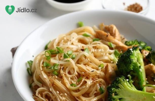 Japonské nudle s brokolicí recept