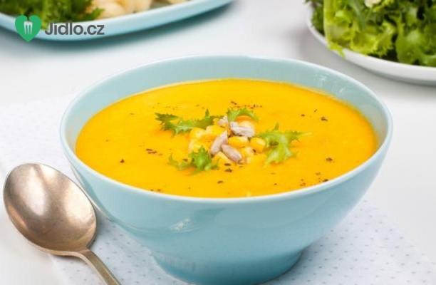 Jednoduchá kukuřičná polévka recept