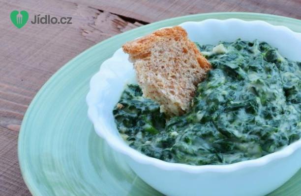 Jemný smetanový špenát recept