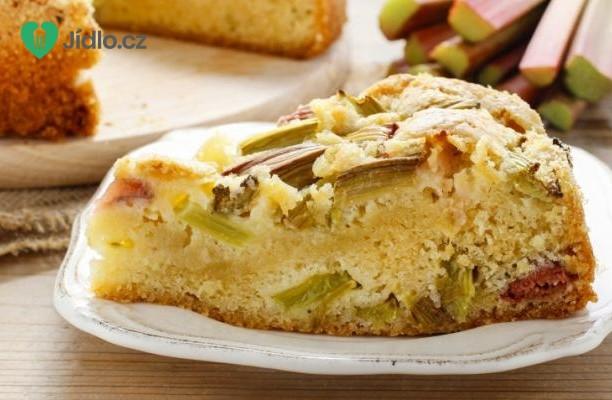 Křehký rebarborový koláč recept