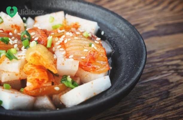 Kimchi z bíle ředkve recept