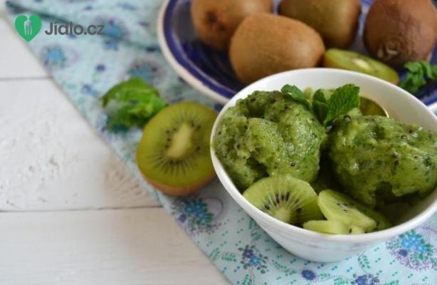 Kiwi zmrzlinka s medem recept