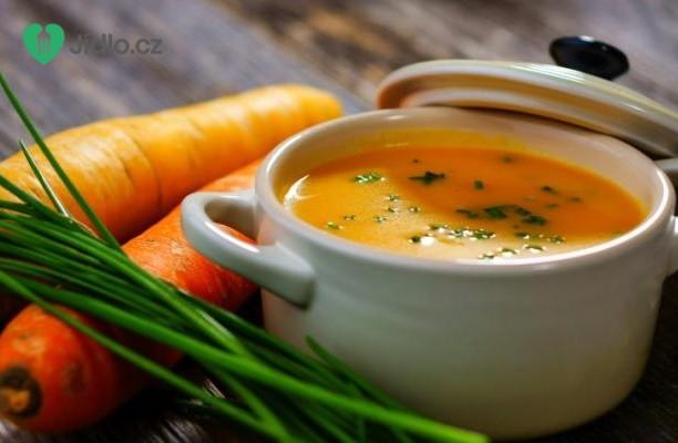 Kořeněná mrkvová polévka recept